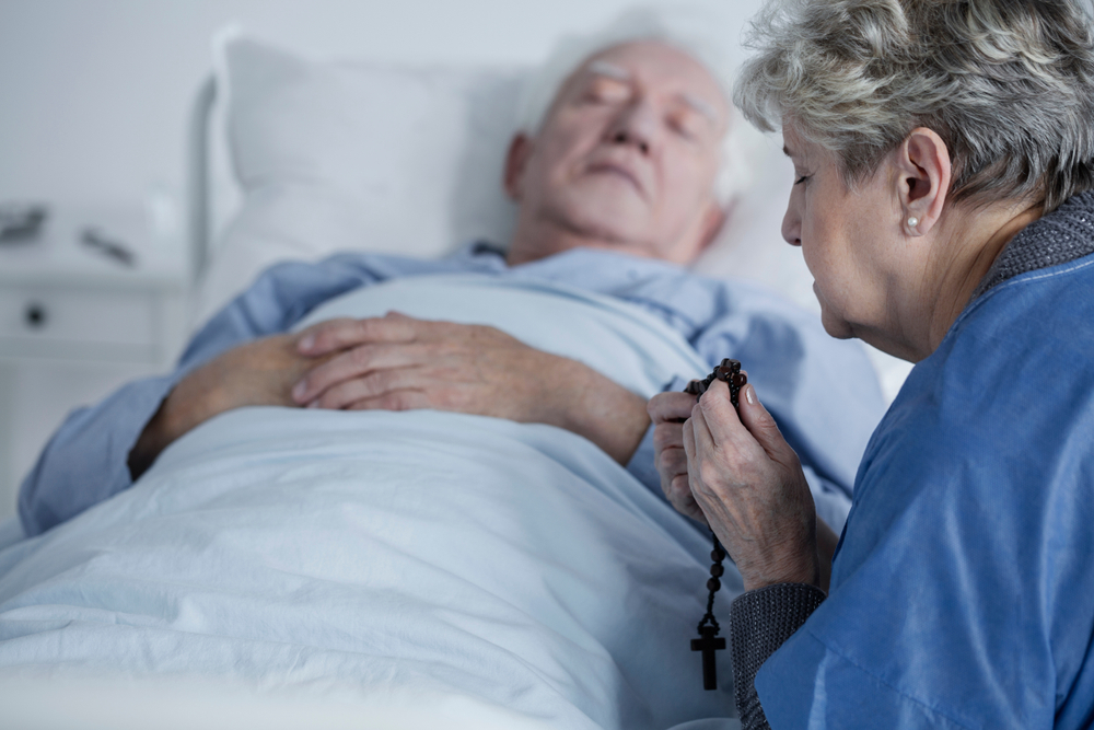 Burial insurance for a terminally ill senior