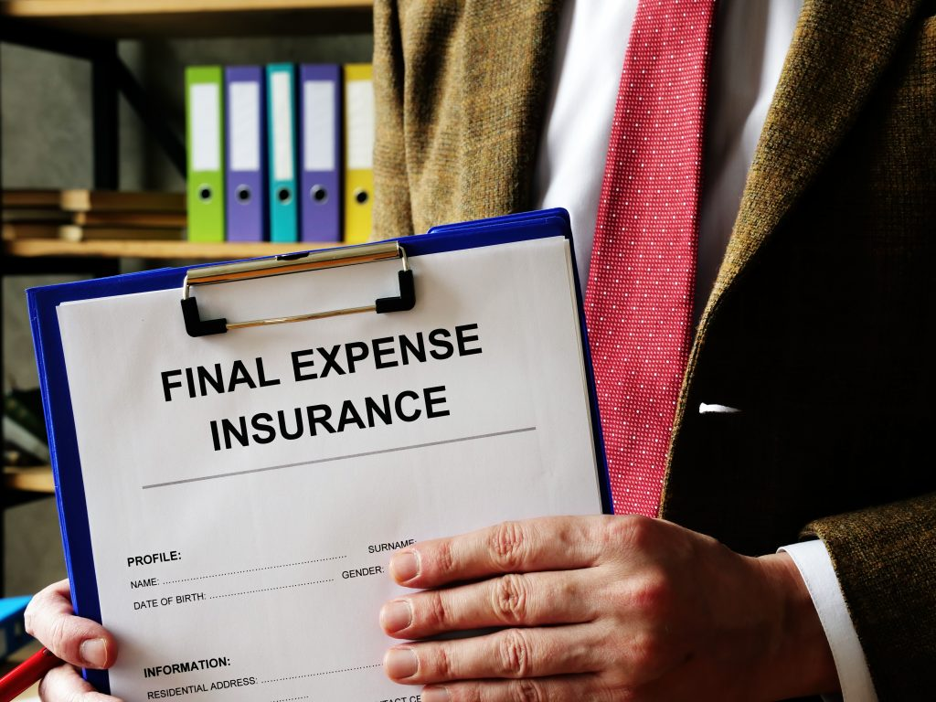 Final expense insurance is right for seniors.