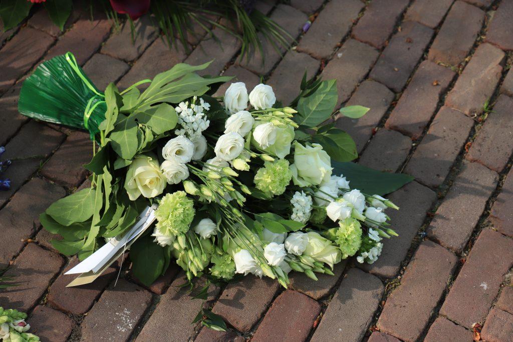 burial insurance, flowers